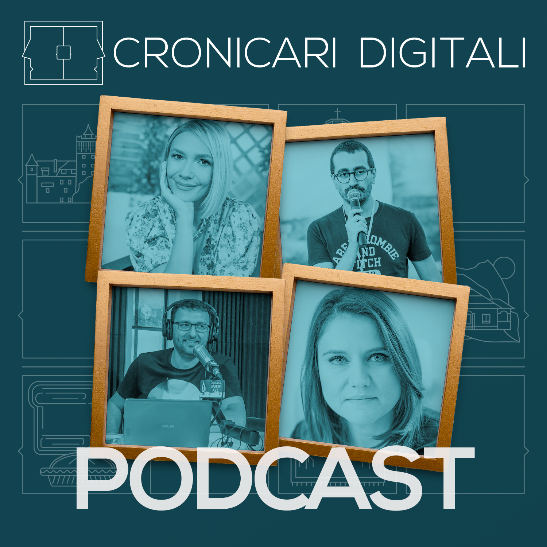 #cronicaridigitali S2 episod 10, Invitați Adela Popescu, Cristian Curus, Ciprian Muntele și Camelia Ene