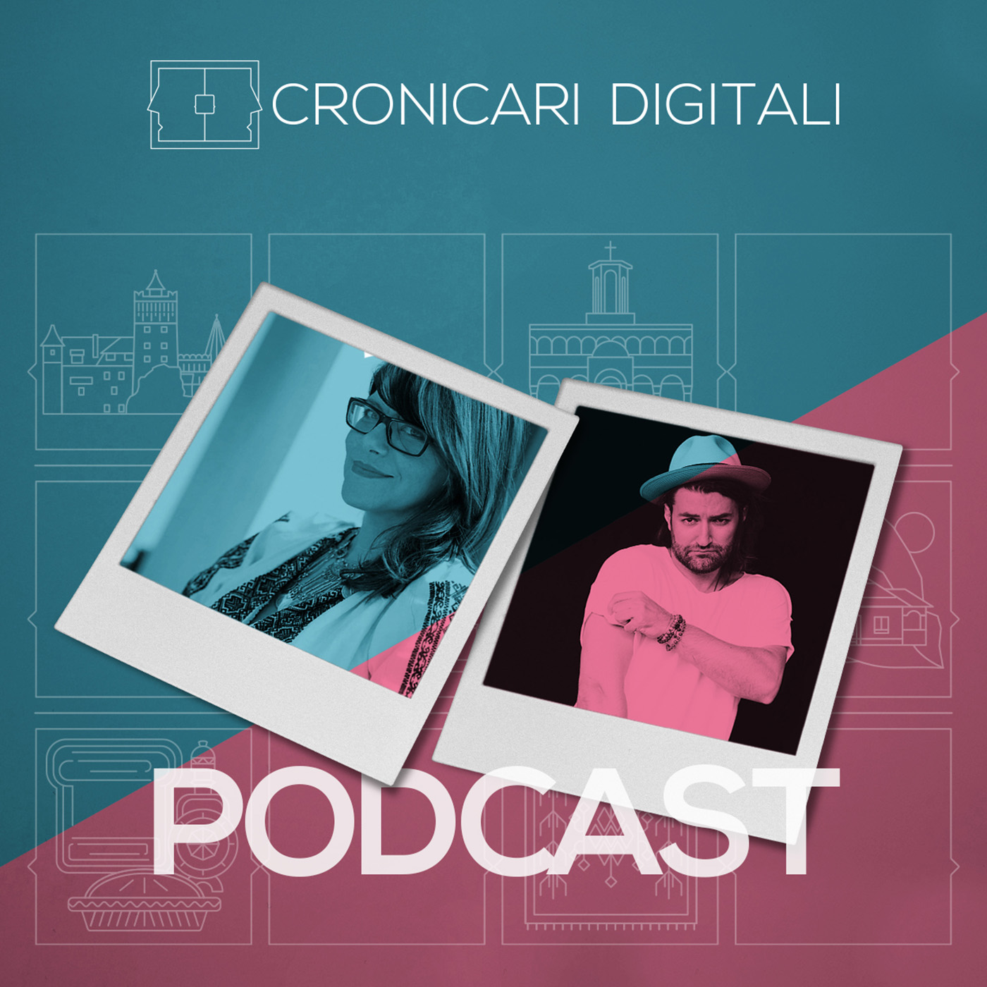 #cronicaridigitali S1 episod 3, Invitați Smiley & Andreea Tănăsescu, moderator Cristian Șimonca, aka Blogu lu' Otravă