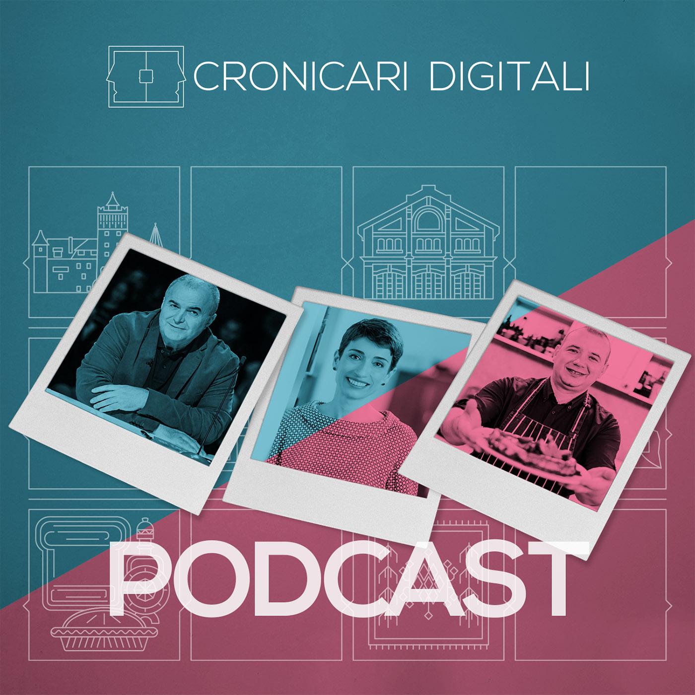 #cronicaridigitali S3 episod 5, Invitați Florin Călinescu, Oana Marinescu și Marius Tudosiei