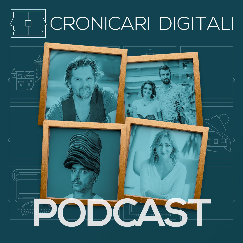 #cronicaridigitali S2 episod 5, Invitați Florin Piersic Jr., Ana și Andrei Rubeli, Alex Gâlmeanu, Anna Katharina Scheidereiter