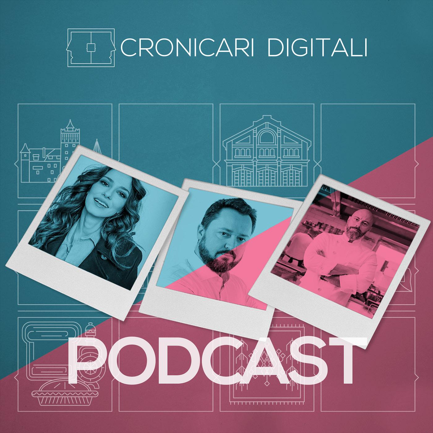 #cronicaridigitali S3 episod 6, Invitați Dana Rogoz, Alexandru Găvozdea și Chef Liviu Lambrino