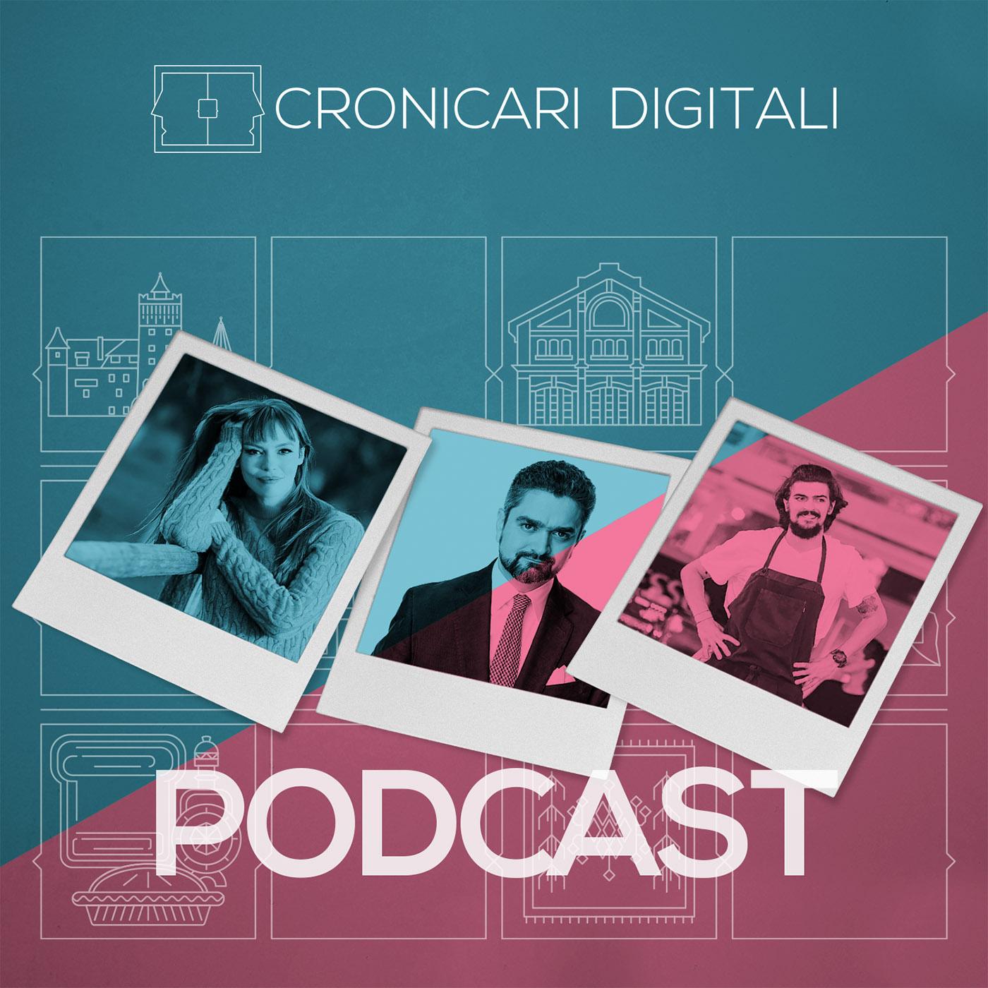 #cronicaridigitali S3 episod 8, Invitați Olimpia Melinte, Theodor Paleologu și Chef Alex Petricean