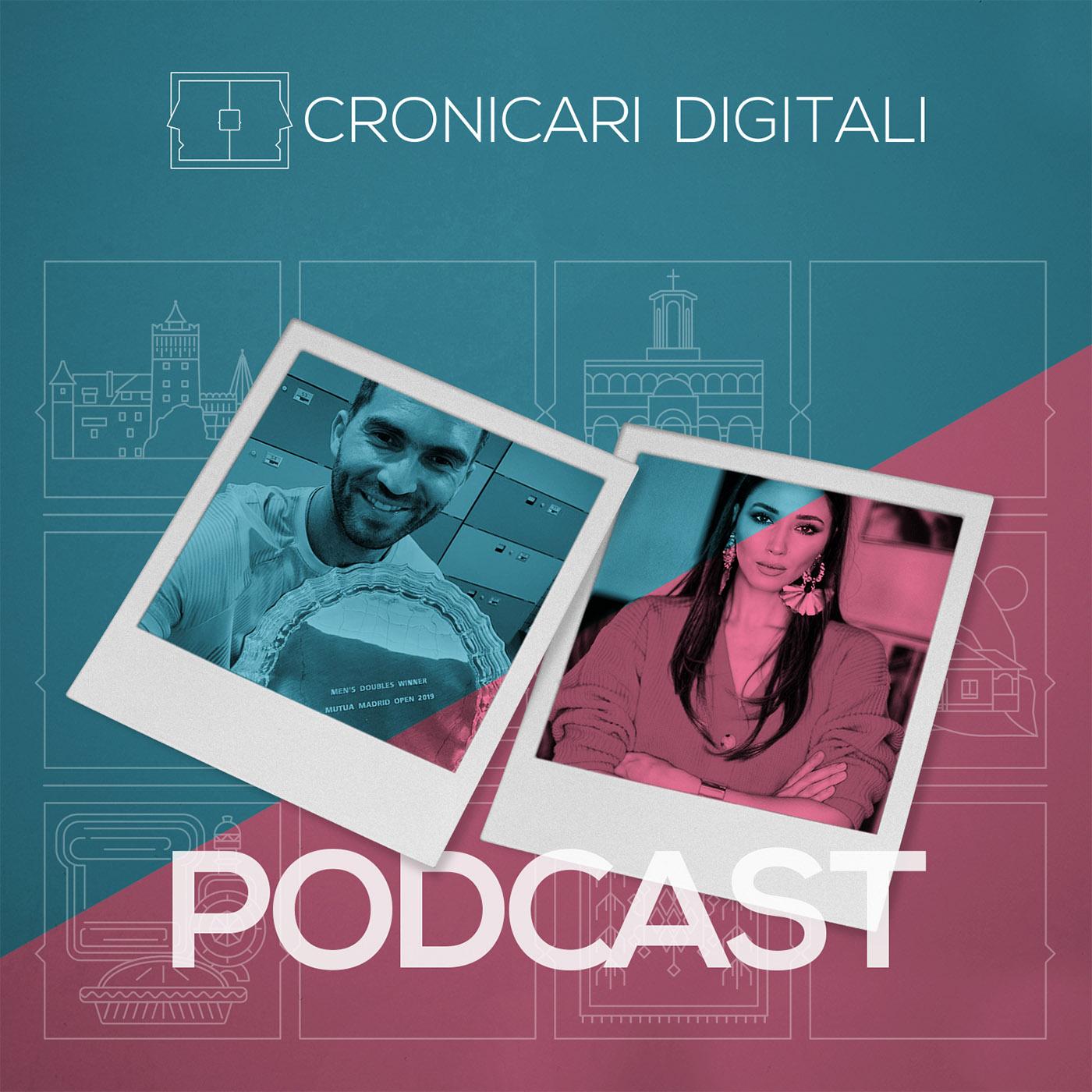 #cronicaridigitali S1 episod 8, Invitați Horia Tecău & Diana Enciu, moderator Cristian Șimonca, aka Blogu lu' Otravă
