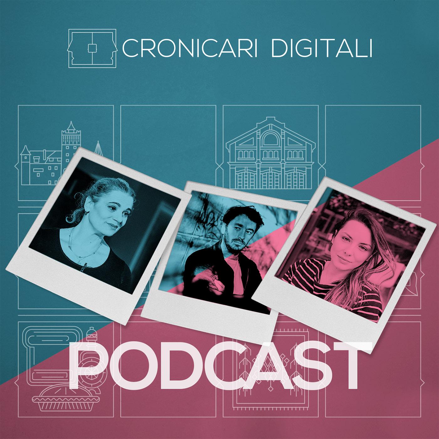#cronicaridigitali S3 episod 9, Invitați Maia Morgenstern, Cristian Movilă și Cristina Mazilu